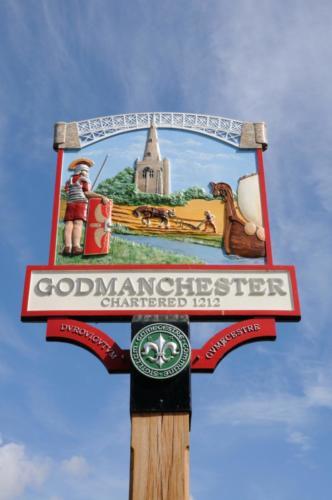 Town Sign, Godmanchester