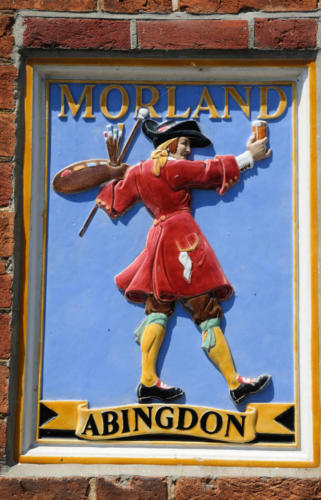 Brewery sign,  Abingdon