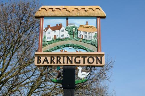 Village sign, Barrington