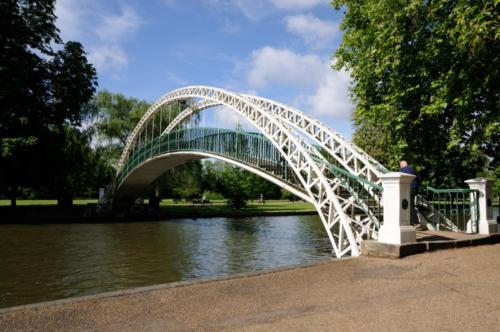Suspension bridge, Bedford