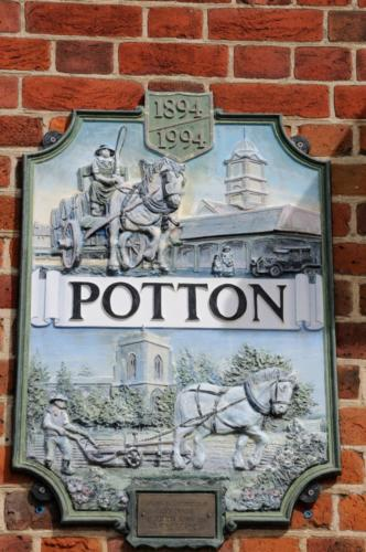 Town Sign, Potton