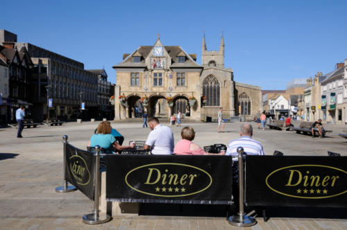 View to the Guildhall, Peterborough
