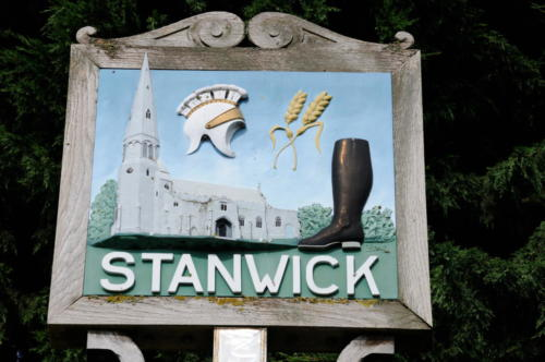Village Sign, Stanwick