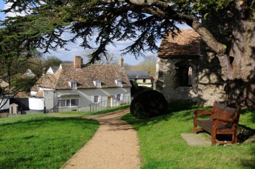 View from churchyard, Swaffham Prior
