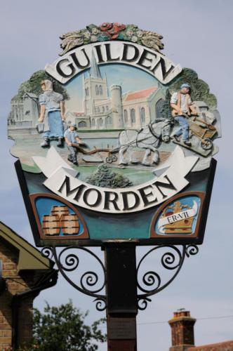 Village Sign,  Guilden Morden
