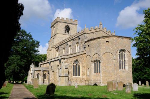 All Saints Church, Wing